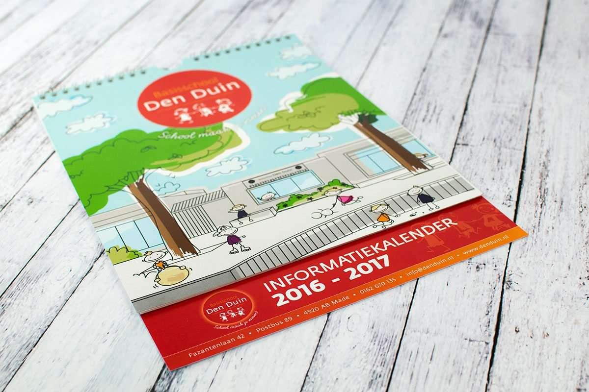 Den Duin schoolkalender